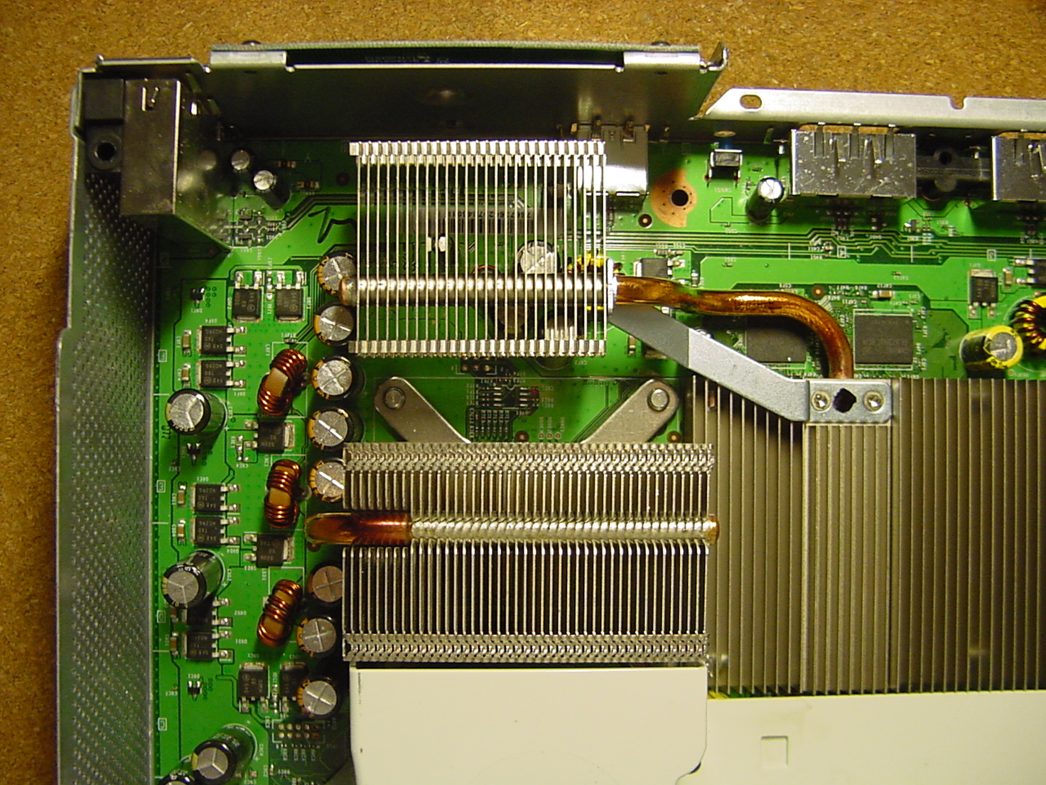Heatsink Xbox 360 Slim Motherboard Pictures